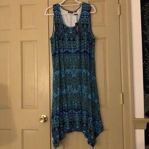 Vibrant Jones & Co swing dress